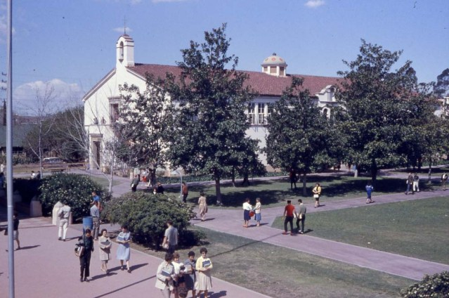 Fullerton Junior College, probably in the 1950s.