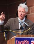 Bill Clinton campaigning for Loretta Sanchez in 2010.