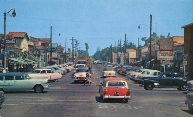 Downtown GG at its peak in the mid-50s.
