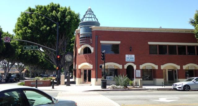 Main Street at El Camino Real in Tustin.