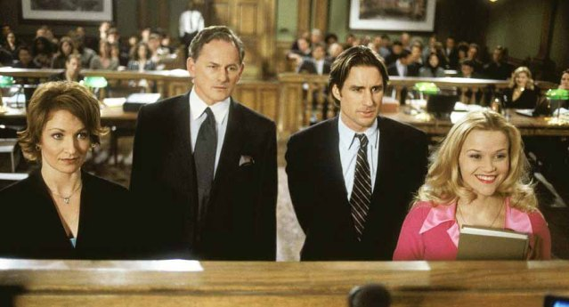 """The film """"Legally Blonde"""" starring Reese Witherspoon was film in part at the courthouse."""