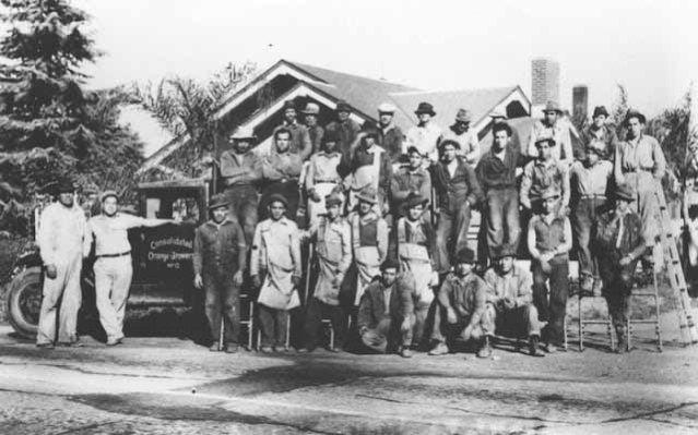 Citrus workers in Orange County.