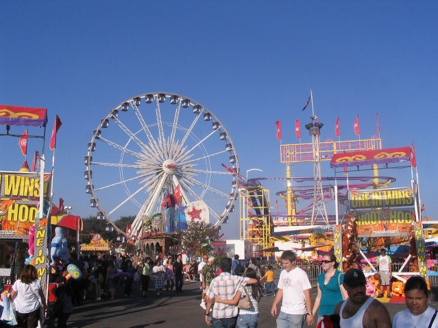 Orange County Fair in Costa Mesa.