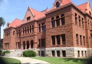 The old Orange County Courthouse.