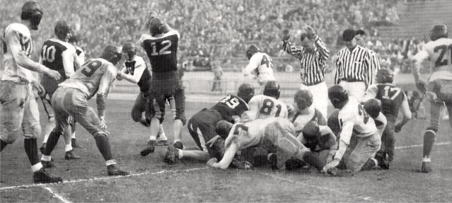 High school football, 1933.