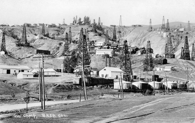 Brea's oil fields.