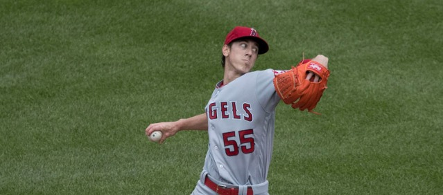 TIM LINCECUM had another rough outing  Friday night, walking six batters in five innings as the Angels lost 6-2 to the Boston Red Sox in Anaheim (Flickr/Keith Allison).