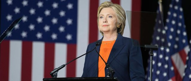 HILLARY CLINTON will be the first woman ever nominated by a major political party for president (Clinton campaign photo).