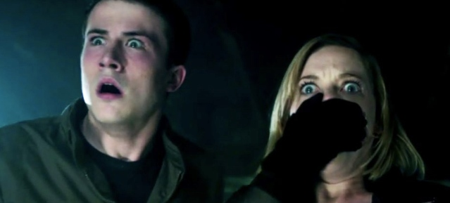 """BURGLARS weren't ready for what they found in """"Don't Breathe,"""" opening this weekend."""