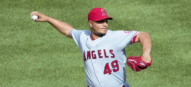 JHOULYS CHACIN pitched well in the Angels' 3-2 loss to the Rangers in Texas Monday night (Flickr/Keith Allison).