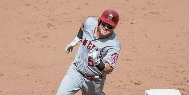 KOLE CALHOUN homered for the Angels in their 8-5 loss Saturday to Texas (Flickr/Keith Allison).