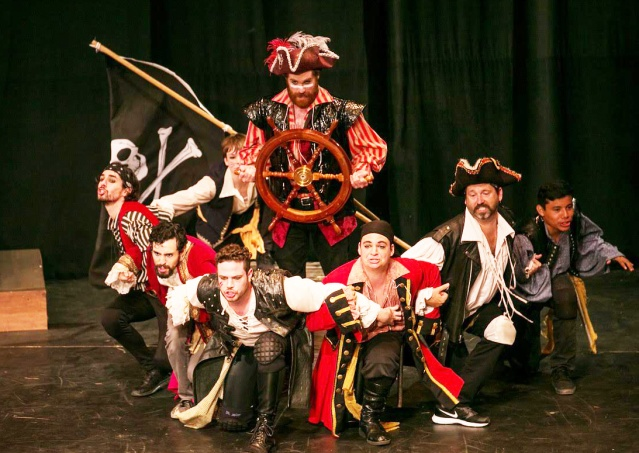 """PIRATES OF PENZANCE"" is one of the popular plays staged by Shakespeare Orange County at the Festival Amphitheatre in Garden Grove (SOC photo)."