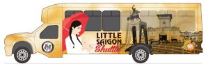 THE LITTLE SAIGON shuttle design (OCTA image).