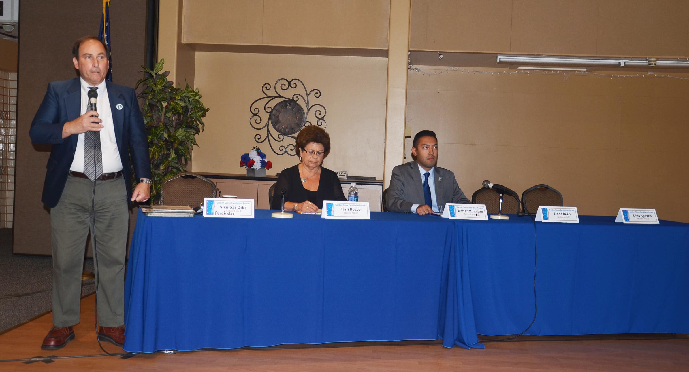 Huntington Beach City School District Candidates