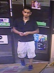 FIRST SUSPECT in robberies (GGPD).