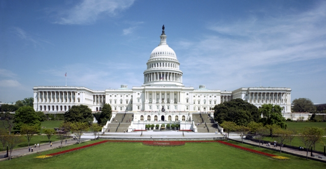 U.S. CAPITOL building, the seat of Congress, in Washington, D.C. (Wikipedia photo).