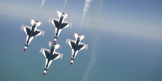 THE BREITLING Huntington Beach Air Show is set for Oct. 21-23 in the pier and beach area.