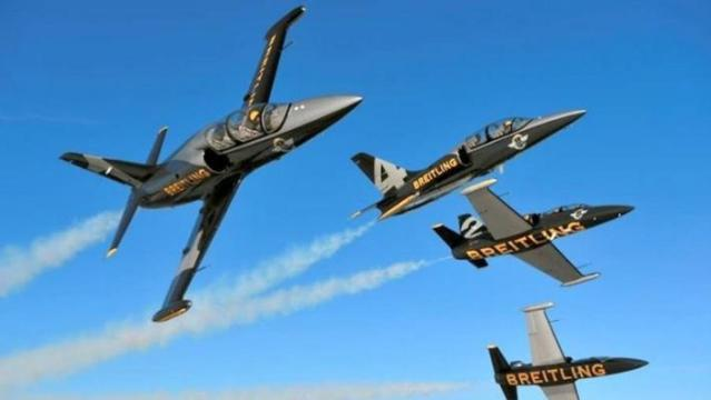 THE BREITLING AIR SHOW is set for Oct. 22-23 in Huntington Beach (Breitling photo).
