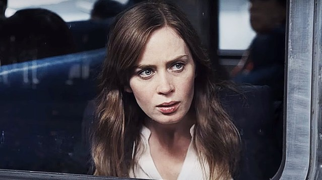 "EMILY BLUNT stars in ""The Girl On The Train,"" a psychological thriller opening this weekend."