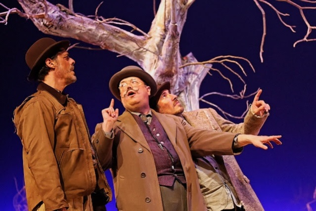 """WAITING FOR GODOT"" at the MainStage Theater at Golden West College in Huntington Beach (GWC photo)."