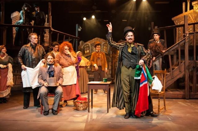"""Sweeney Todd: The Demon Barber of Fleet Street"" on stage at the Gem Theater in Garden Grove (OMP Photo)."
