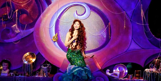 """APRIL MALINA stars in """"Disney's The Little Mermaid"""" at the Rose Center Theater in Westminster (Rose Center photo by James Niedle)."""