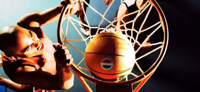 BASKETBALL action started Monday for many area high school teams.