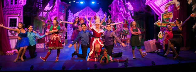 """SOMETHING for the whole family at """"The Holiday Gem"""" now on stage at the Gem Theater in Garden Grove (OMP Photo by Shoko Araki)."""