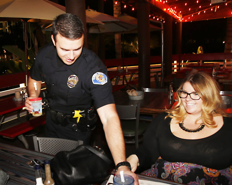 Officers Dance Serve For Good Cause Orange County Tribune