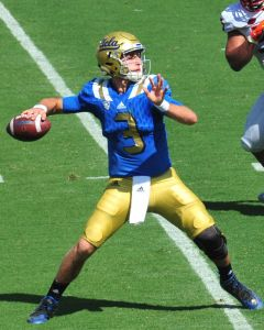 JOSH ROSEN was sidelined mid-season with a shoulder injury, and UCLA finished 4-8 (Wikipedia photo).
