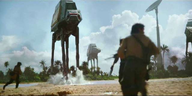"""""""ROGUE ONE"""" fills in some of the gaps in the """"Star Wars"""" saga."""