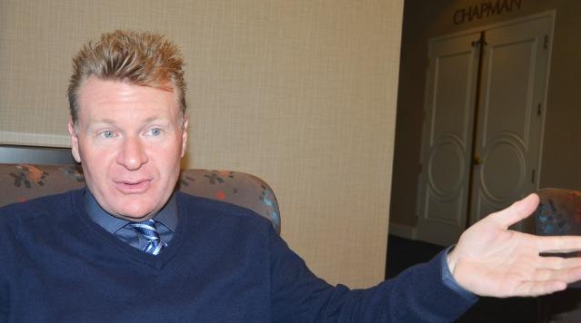 STEVE JONES will be sworn in as Garden Grove's 15th mayor on Dec. 13. (OC Tribune photo).