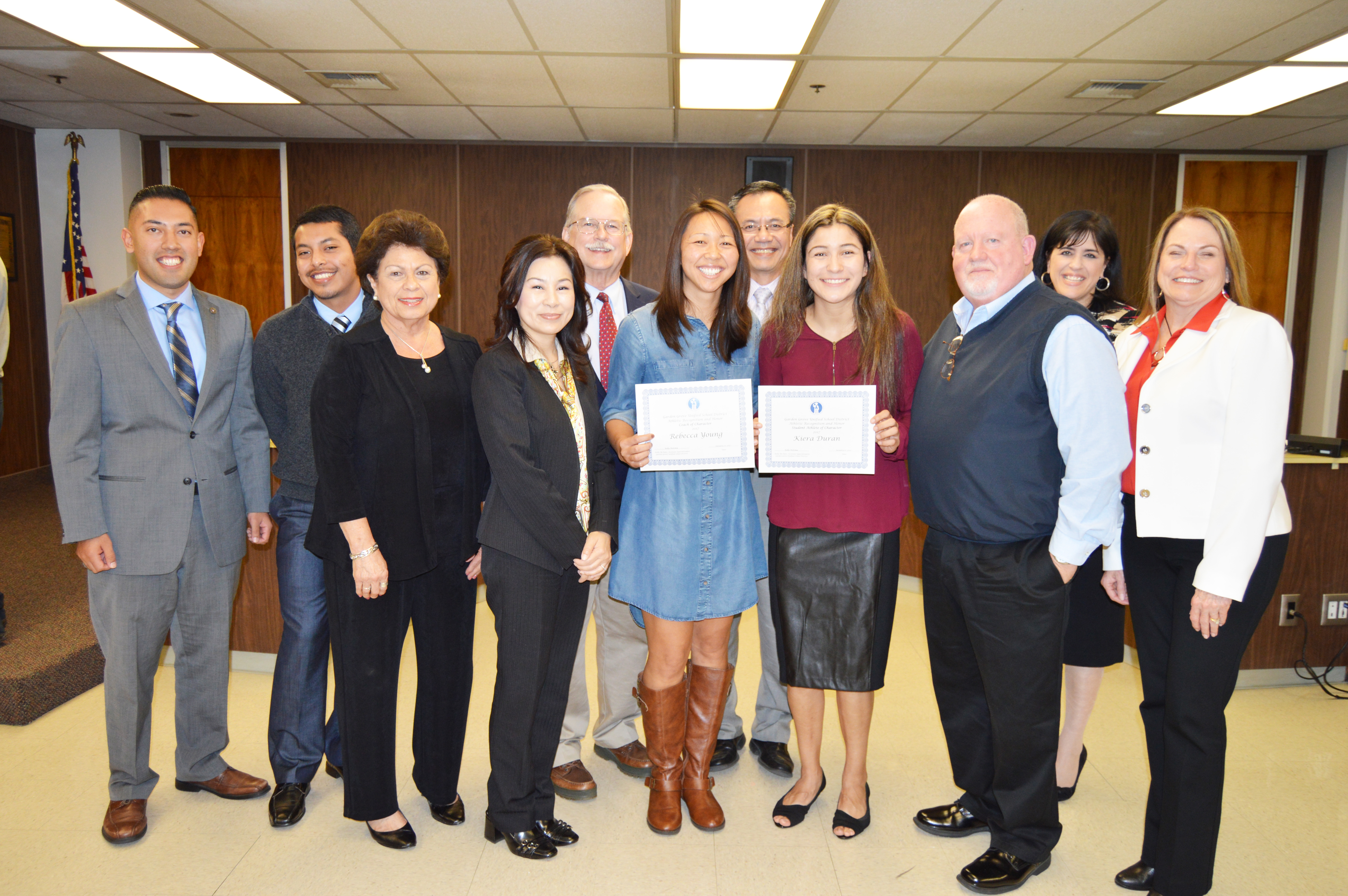 Athletes Coaches Of Character Honored Orange County Tribune