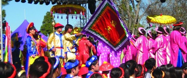 TRADITIONAL Vietnamese dress will be part of the Tet Festival (File photo).
