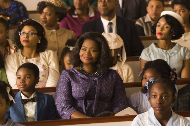 """HIDDEN FIGURES"" tells the story of the contribution of black women to NASA in the early days of space flight."