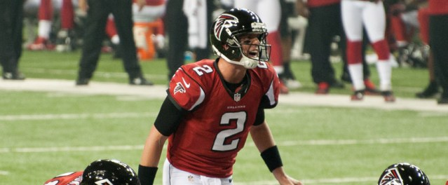 MATT RYAN is entering the list of elite quarterbacks in the NFL (Seatacolor photo).