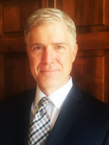 NEIL GORSUCH is the nominee for a Supreme Court seat.