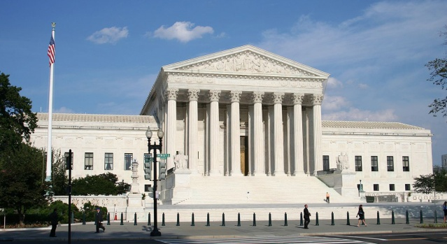 U.S. SUPREME COURT building in Washington, D.C.