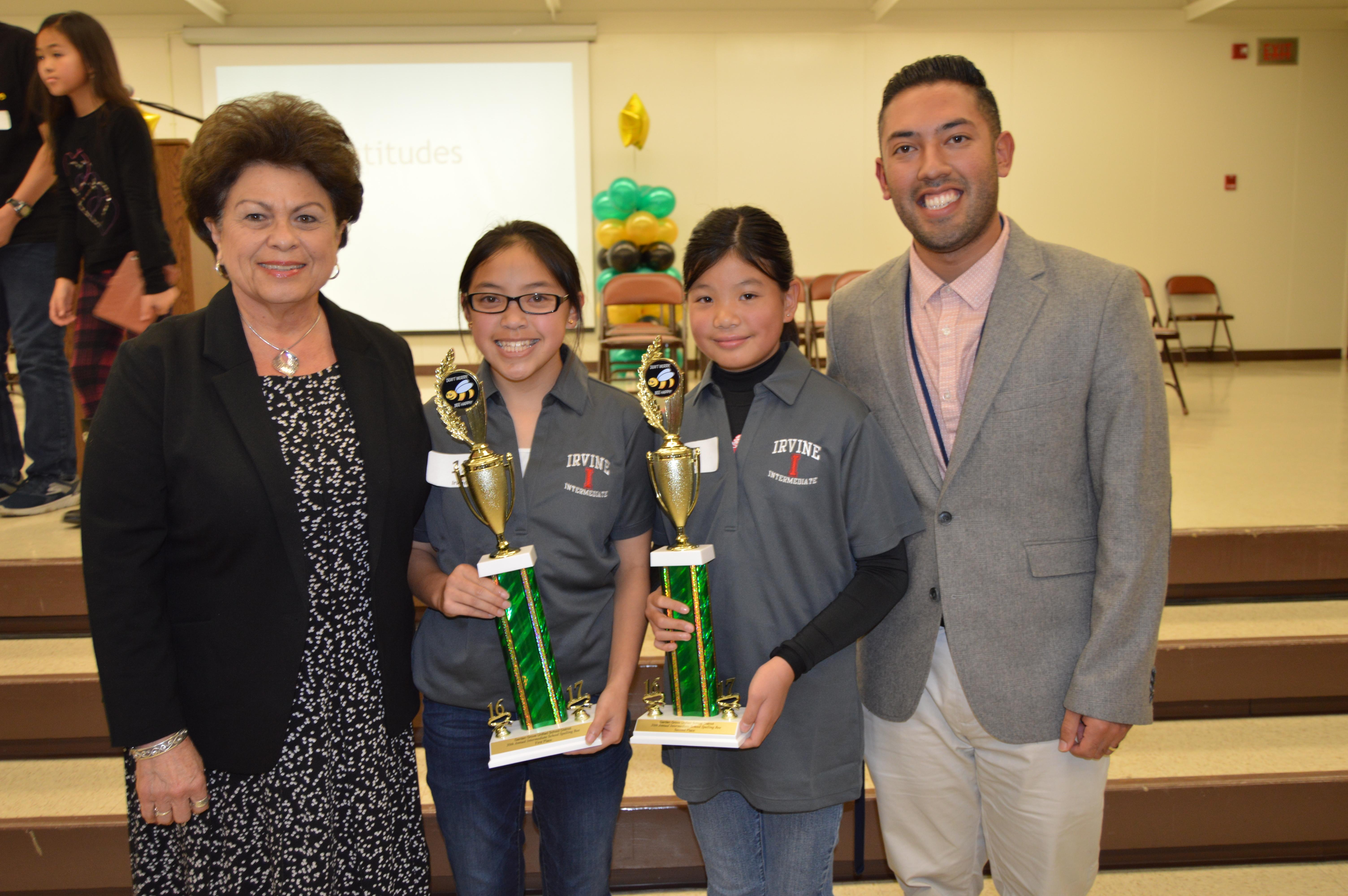 Irvine School Girl Is Top Ggusd Speller Orange County Tribune
