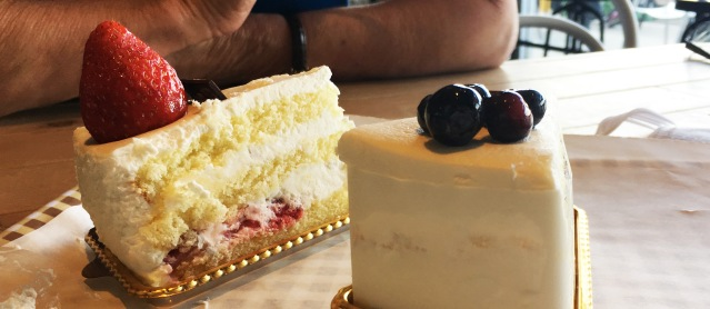 CREAM CAKES at Tour les Jours in Garden Grove are exquisite (OC Tribune photo)