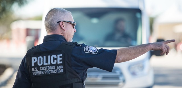 WHAT CAN we point to as a leading cause of illegal immigration? (U.S. Customs and Border Protection photo).