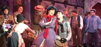 """JENA SLIPP as Eliza, singing """"Wouldn't It Be Loverly"""" in the Rose Center Theater Production of """"My Fair Lady"""" in Westminster (RCT photo)."""