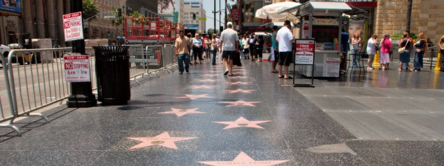 THE HOLLYWOOD Walk of Fame (Christian Haugen photo).
