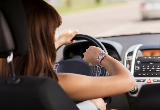 A 45-MINUTE drive to work can be a burden. Should she quit or stick with it?