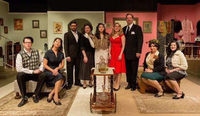 """THE CAST of """"The Wisdom of Eve,"""" now on stage at the Westminster Community Playhouse (WCP photo)."""