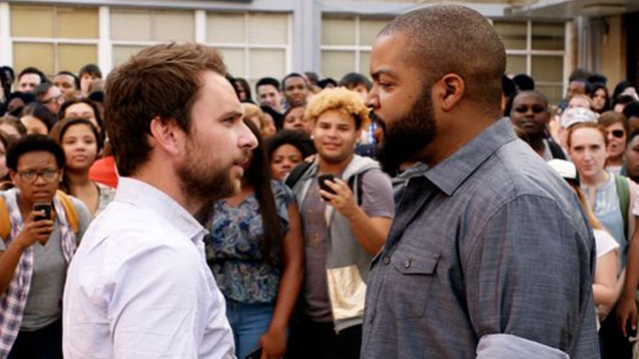 "CHARLIE DAY and Ice Cube star in ""Fist Fight."""