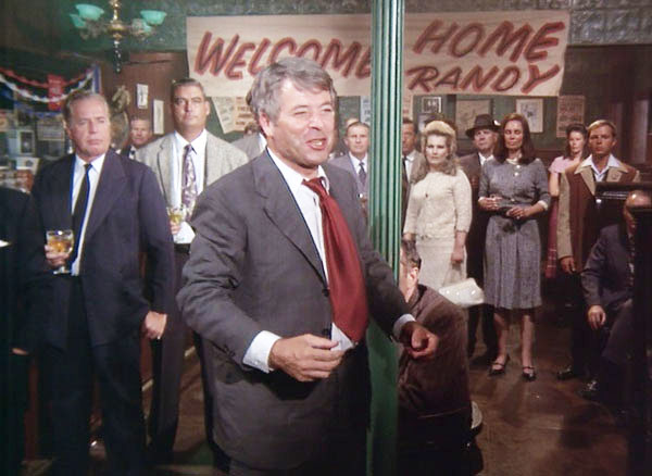 """""""THEY'RE TEARING DOWN Riley's Bar,"""" starring William Windom."""