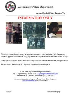 """WPD POSTER on """"scam"""" possibilities (WPD image)"""