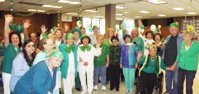 SENIORS will celebrate St. Patrick's Day on March 15 in Garden Grove (City of Garden Grove photo).