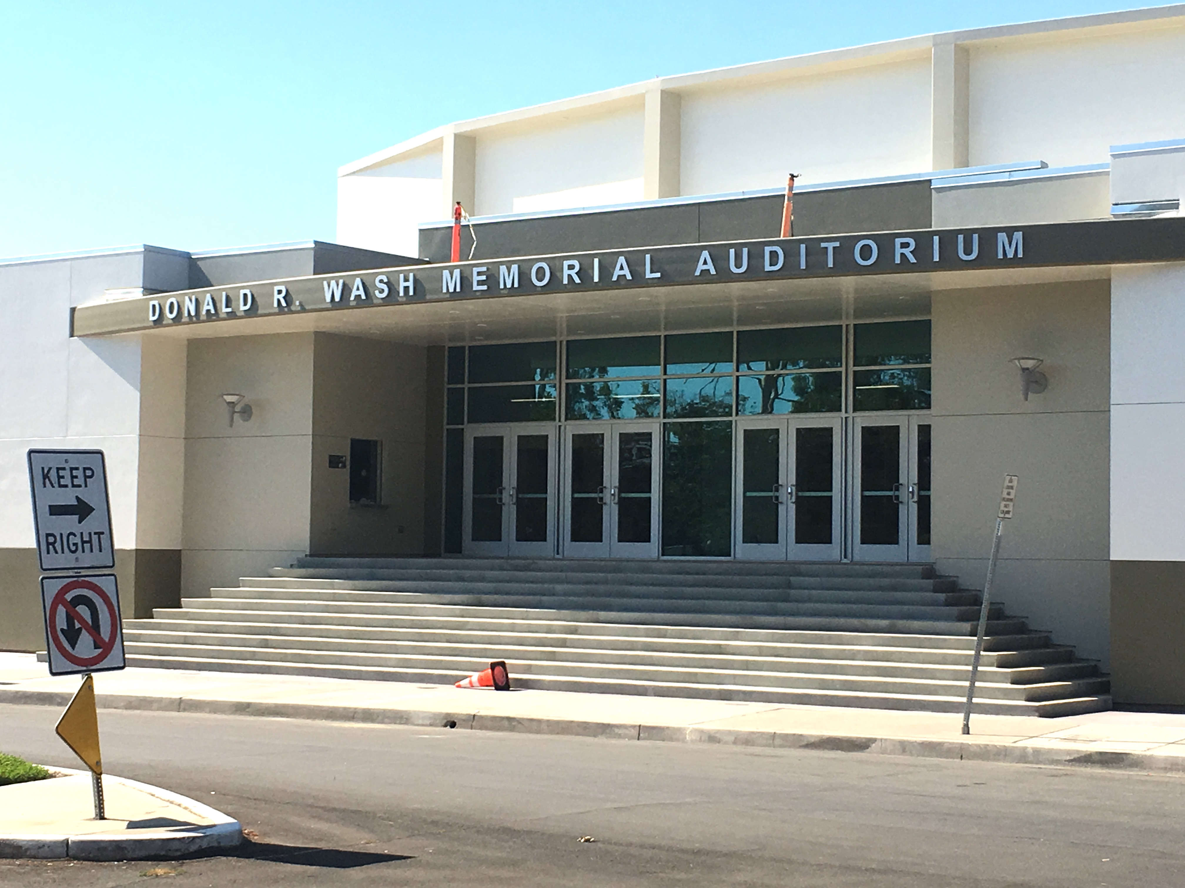 Sports facilities auditorium modernized orange county - Santiago high school garden grove ca ...